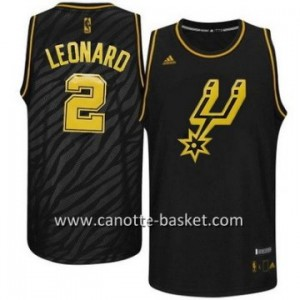 Maglie nba Black Fashion San Antonio Spurs Kawhi Leonard#2