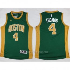Maglie nba Boston Celtics Isaiah Thomas #4 verde