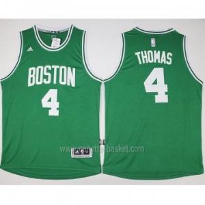Maglie nba Boston Celtics Isaiah Thomas #4 verde 2016 stagione