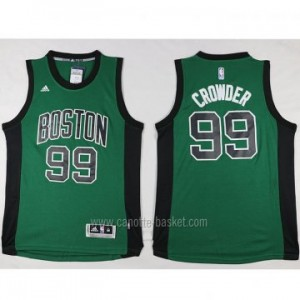 Maglie nba Boston Celtics Jae Crowder #99 verde