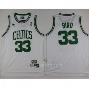 Maglie nba Boston Celtics Larry Bird #33 bianco