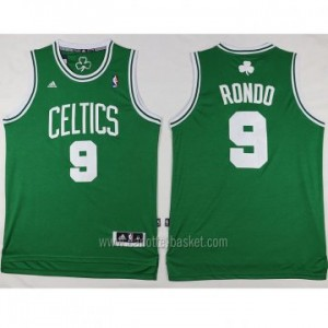 Maglie nba Boston Celtics Rajon Rondo #9 verde 2016 stagione