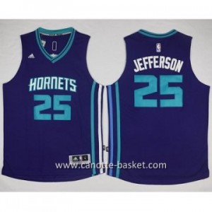 Maglie nba Charlotte Hornet Al Jefferson #25 blu