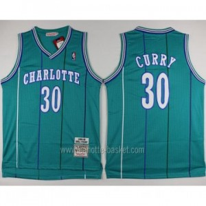 Maglie nba Charlotte Hornet Dell Curry #30 blue Lake