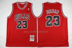 Maglie nba Chicago Bulls Michael Jordan #23 classico rosso