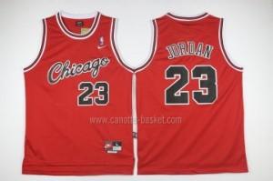 Maglie nba Chicago Bulls Michael Jordan #23 siamesi rosso