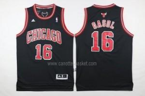 Maglie nba Chicago Bulls Pau Gasol #16 nero