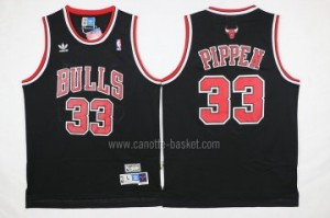 Maglie nba Chicago Bulls Scottie Pippen #33 nero