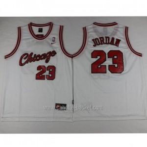 Maglie nba Chicago Bulls bianco Michael Jordan #23
