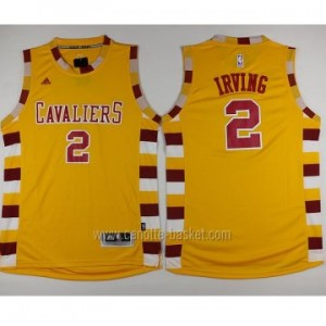 Maglie nba Cleveland Cavalier Kyrie Irving #2 giallo 2016 stagione