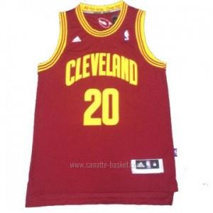 Maglie nba Cleveland Cavalier Timofey Mozgov #20 rosso nuovi tessuti