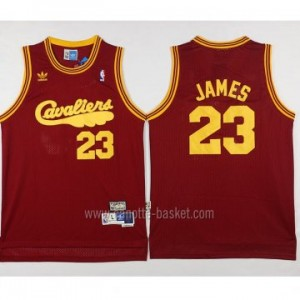 Maglie nba Cleveland Cavalier rosso LeBron James #23