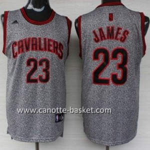 Maglie nba Cleveland Cavaliers LeBron James #23 Statico Fashion