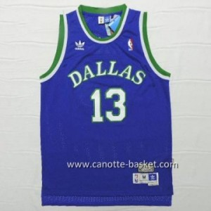 Maglie nba Dallas Mavericks Steve Nash #13 blu