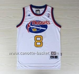 Maglie nba Denver Nuggets Danilo Gallinari #8 bianco