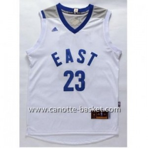 Maglie 2016 East All-Star LeBron James #23 bianco