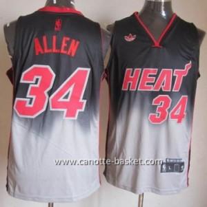 Maglie nba Miami Heat Ray Allen #34 Fadeaway Moda