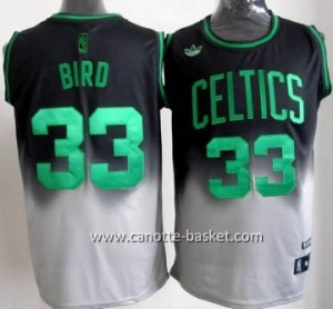 Maglie nba  Boston Celtics Larry Bird #33 Fadeaway Moda