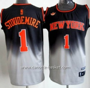 Maglie nba New York Knicks Amar'e Stoudemire #1 Fadeaway Moda