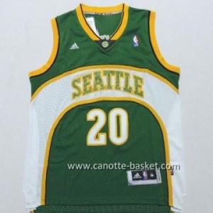 Maglie nba Seattle SuperSonics Gary Dwayne Payton #20 verde