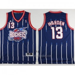 Maglie nba Houston Rockets James Harden #13 blu Retro