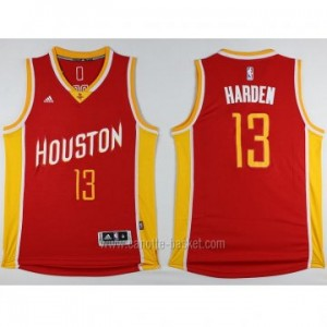 Maglie nba Houston Rockets James Harden #13 rosso Retro