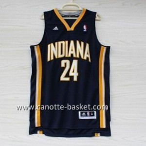 Maglie nba Indiana Pacers Paul George #24 blu marino