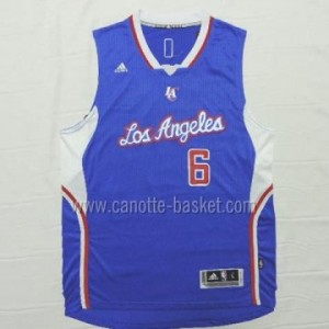 Maglie nba Los Angeles Clippers DeAndre Jordan #6 blu