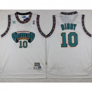 Maglie nba Memphis Grizzlies Mike Bibby #10 bianco