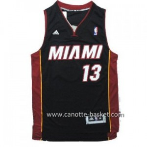 Maglie nba Miami Heat Shabazz Napier #13 nero