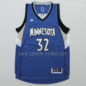 Maglie nba Minnesota Timberwolves Karl-Anthony Towns #32 blu 15-16 stagione