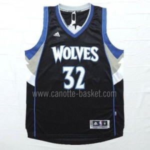 Maglie nba Minnesota Timberwolves Karl-Anthony Towns #32 nero 15-16 stagione