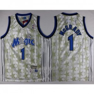 Maglie nba Orlando Magic Tracy McGrady #1 Stella nera
