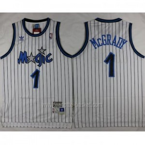 Maglie nba Orlando Magic Tracy McGrady #1 strisce bianco