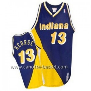 Maglie nba Indiana Pacers Paul George #13 giallo porpora