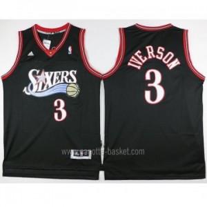 Maglie nba Philadelphia 76ers Allen Iverson #3 nero