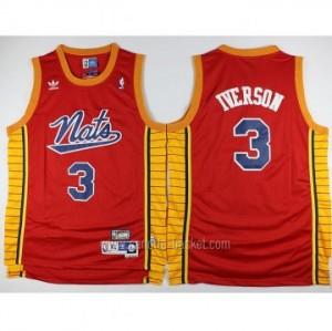 Maglie nba Philadelphia 76ers Allen Iverson #3 rosso classico