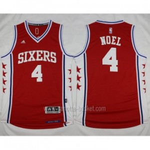 Maglie nba Philadelphia 76ers Nerlens Noel #4 rosso stagione 2016