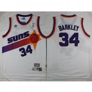 Maglie nba Phoenix Suns bianco Charles Barkley #34