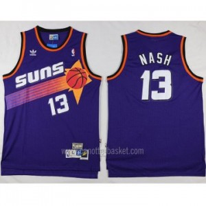 Maglie nba Phoenix Suns porpora Steve Nash #13