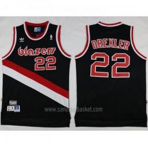 Maglie nba Portland Blazers Clyde Drexler #22 nero