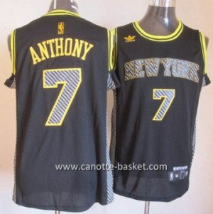Maglie nba New York Knicks Carmelo Anthony #7 Relampago