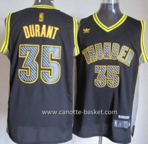 Maglie nba Oklahoma City Thunde Kevin Durant #35 Relampago