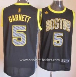 Maglie nba Boston Celtics Kevin Garnett #5 Relampago