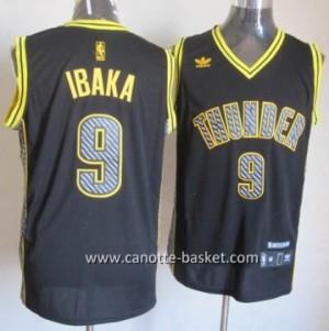 Maglie nba Oklahoma City Thunde Serge Ibaka #9 Relampago