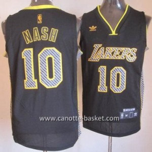 Maglie nba Los Angeles Lakers Steve Nash #10 Relampago
