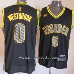Maglie nba Oklahoma City Thunde Russell Westbrook #0 Relampago