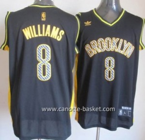 Maglie nba Brooklyn Nets Deron Williams #8 Relampago