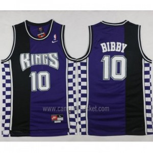 Maglie nba Sacramento Kings Mike Bibby #10 Retro porpora
