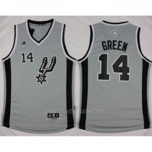 Maglie nba San Antonio Spurs Danny Green #14 grigio 2016 stagione